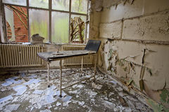Old room with chair Royalty Free Stock Image