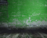 Old room with concrete wall Royalty Free Stock Photos