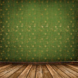 Old room, grunge industrial interior, royalty free stock image