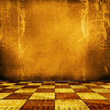 Old room, grunge industrial interior, Royalty Free Stock Photo