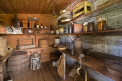 Old room in heritage farm. In Philip Island Stock Images