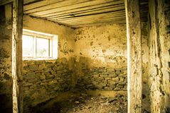 Old room interior Royalty Free Stock Images