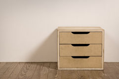 Old room interior with chest drawer. Royalty Free Stock Photos