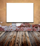 Old room with stucco wall Stock Image