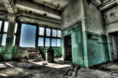 Old room with window Royalty Free Stock Image