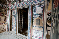 Old rooms of historical mansion in indian city Stock Images