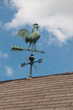 Old rooster metal weather vane Stock Photography