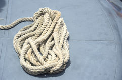 Old rope Royalty Free Stock Images