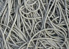 Old Rope Background Stock Photos