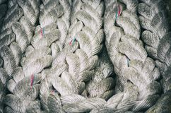 Old Rope Background Royalty Free Stock Photography