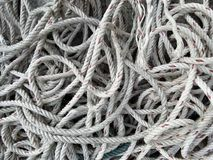 Old  rope background Stock Image
