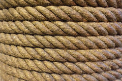 Old rope background Royalty Free Stock Photos
