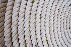 Old rope circuit background Royalty Free Stock Image