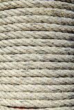 Old Rope on Pole. Royalty Free Stock Photography