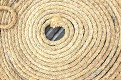 Old rope Stock Photography