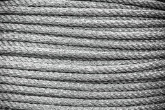 Old rope stacked texture background Stock Images
