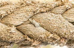 Old Rope Texture Background Royalty Free Stock Photography