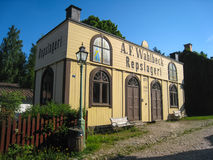 An old Ropemaking shop. Linkoping. Sweden Royalty Free Stock Images