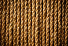Old ropes Royalty Free Stock Photos