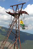 Old ropeway, Slovakia Stock Images