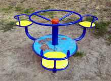 Old rotary carousel Royalty Free Stock Photos