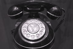 Old Rotary Dial Telephone Royalty Free Stock Image