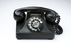 Old rotary telephone Royalty Free Stock Photography
