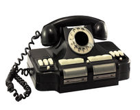 Old rotary telephone director Stock Image