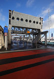 Old Rotating Bridge Auckland Stock Image