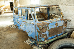 Old Rotten Car Stock Photography