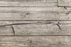 Old Rotten Cracked Knotted Floorboards Surface Texture Royalty Free Stock Image