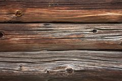 Old, rotten, dark, wood or wall, background Royalty Free Stock Photo