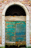 Old rotten door Royalty Free Stock Photo