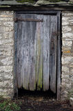 Old Rotten Door Stock Images