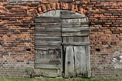 Old Rotten Gate Stock Image