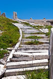 Old rotten stairs Royalty Free Stock Photography