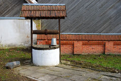 Old rotten water well Stock Photography