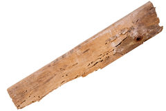 Old rotten wood plank Royalty Free Stock Images