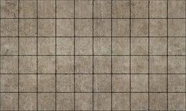 Old rough concterte tiles seamless Royalty Free Stock Photos
