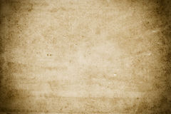 Old rough dirty paper texture. Royalty Free Stock Photography