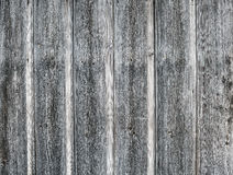 Old rough discolored wooden texture Stock Photography