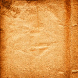 Old rough paper background. Old brown paper background with space for text or image Stock Image