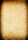 Old rough paper background. Very old brown paper background with space for text or image Stock Images