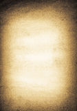 Old rough paper background. Very old brown paper background with space for text or image royalty free illustration