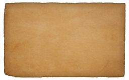 Old rough paper royalty free stock photo