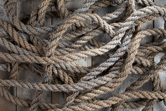 Old Rough Rope Royalty Free Stock Photo