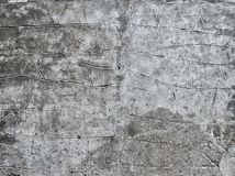Old rough structured gray facade texture Royalty Free Stock Photography