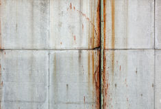 Old rough textured concrete panels. Royalty Free Stock Photo