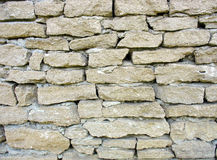 Old rough white brick wall. Texture background Royalty Free Stock Photos