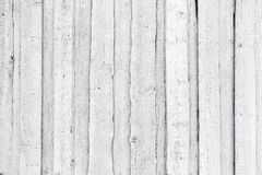 Old rough white wooden wall, background texture Royalty Free Stock Photography